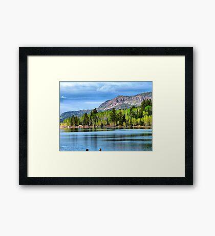 Yankee Lake 4 Framed Print