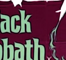 black sabbath Sticker