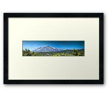 Panoramic Etna. Framed Print