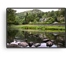 House overlooking Rydal Water Canvas Print