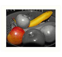 Bowel of Fruit Art Print