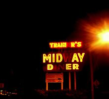 Trainer's Midway Diner by Christine Elise McCarthy