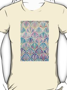 Glamorous Twenties Art Deco Pastel Pattern T-Shirt