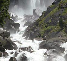 Vernal Falls Panorama by Shaina Haynes