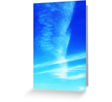 Feather in the Sky Greeting Card
