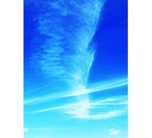 Feather in the Sky Photographic Print