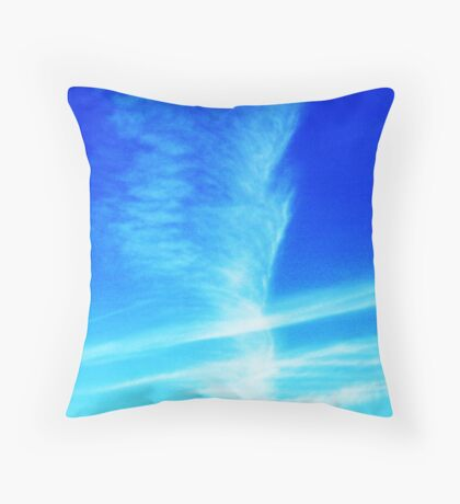 Feather in the Sky Throw Pillow