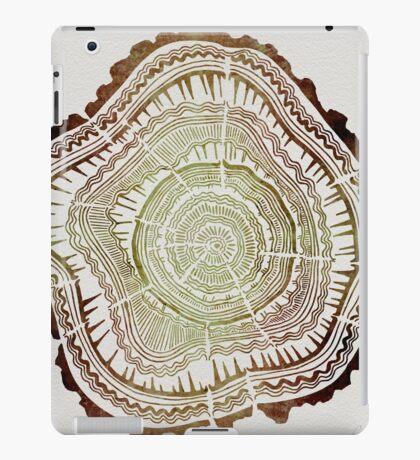 Tree Rings – Watercolor iPad Case/Skin