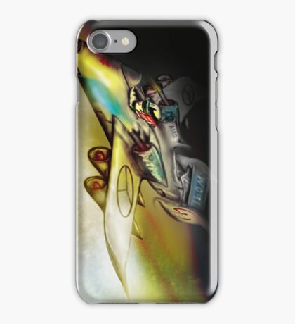 Lewis Hamilton Future Votex Fighter jet (Formula 1 inspired) ©peewiedesigns   iPhone Case/Skin