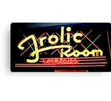 Frolic Room Canvas Print