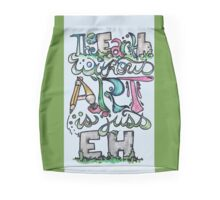 The earth without art is just eh Pencil Skirt