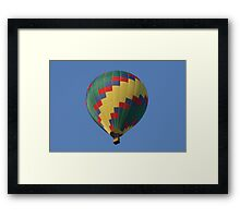 Up & Up Framed Print