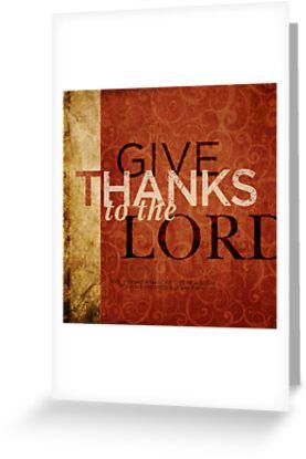 Psalm 136:1 by Dallas Drotz