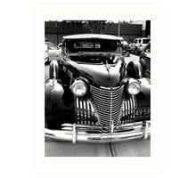 Cadillac Black Art Print