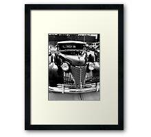 Cadillac Black Framed Print