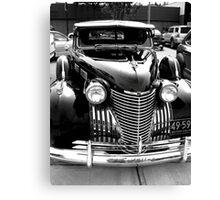 Cadillac Black Canvas Print