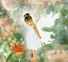 Flower angel by Steven  Paine
