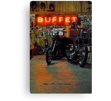 the buffet Canvas Print