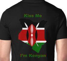Kiss Me I'm Kenyan Unisex T-Shirt