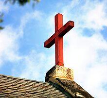 Cross Church Roof by Henrik Lehnerer