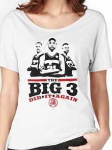 The Big 3  Women's Relaxed Fit T-Shirt