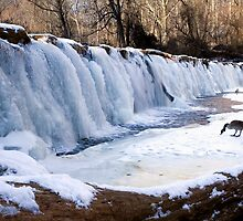 Attractive Waterfall in Winter by Mark Van Scyoc