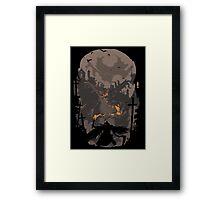 Blood Encounter Framed Print