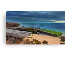 Mettams Pool Ramp  Canvas Print