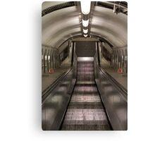 Pedestrian Tunnel Canvas Print