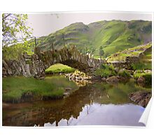 The Lake District: Slater Bridge Poster
