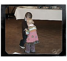 Their Very First Dance - Hello Young Lovers Photographic Print