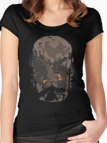 Blood Encounter Women's Fitted Scoop T-Shirt