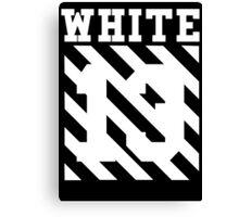 Off White Canvas Print