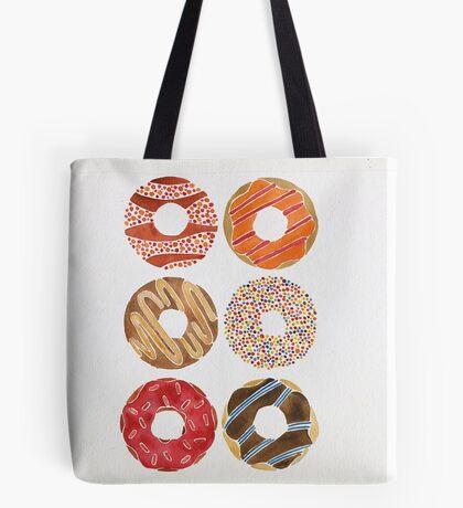 Half Dozen Donuts Tote Bag