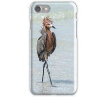 Goofy looking Egret iPhone Case/Skin