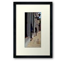 Old San Juan Puerto rico  Framed Print