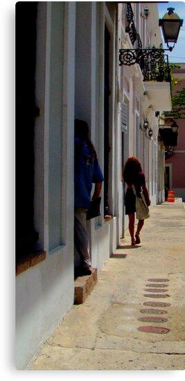 Old San Juan Puerto rico  by Isa Rodriguez