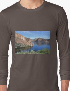 Blue Waters in the Desert Long Sleeve T-Shirt