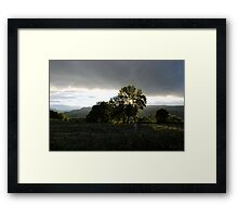 It Rarely Rains in Swaledale  Framed Print