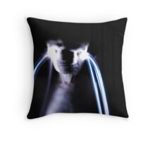 Ghostly appearance Throw Pillow