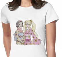 Visiting japan  Womens Fitted T-Shirt