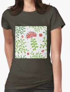 Elegance Seamless pattern with flowers, vector floral illustration in vintage style T-Shirt