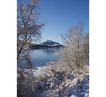 Winter Loch Photographic Print