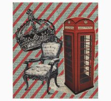 retro jubilee victorian chair london telephone booth Kids Clothes