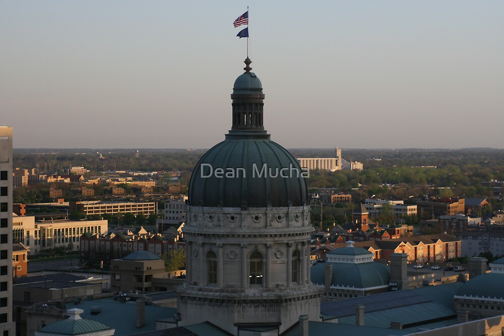 Sunrise At The Capital by Dean Mucha