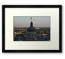 Sunrise At The Capital Framed Print