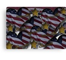 1776 America Canvas Print