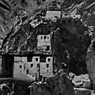 gompa 2. dangkar, spiti lahaul, northern india by tim buckley | bodhiimages