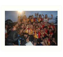Espy Rockdogs 2009 Community Cup winners Art Print
