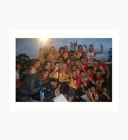Espy Rockdogs 2009 Community Cup winners Art Print